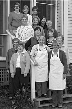 A few of the cooks in the Grandmothers Helping Grandmothers Fundraising Cookbook