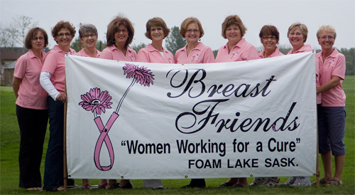 Breast Friends -Women Working For A Cure For Breast Cancer